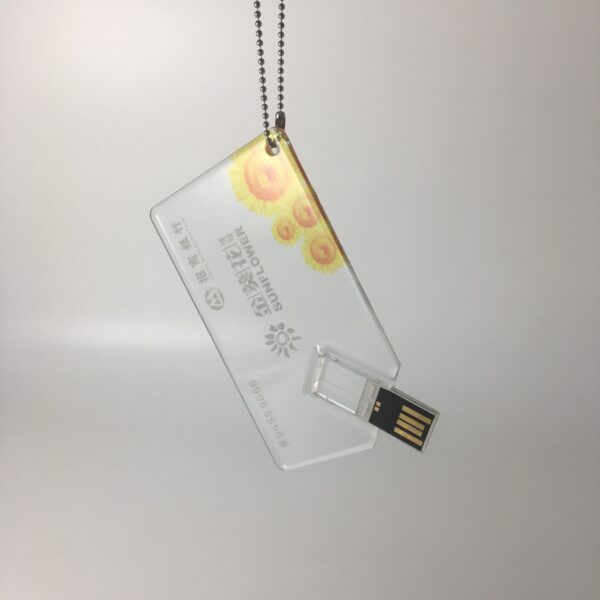 דיסק און קי כרטיס שקוף