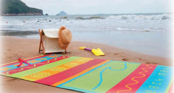 מחצלת לחוף ולפקניק