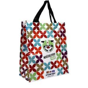 תיק קניות במיתוג צבעוני