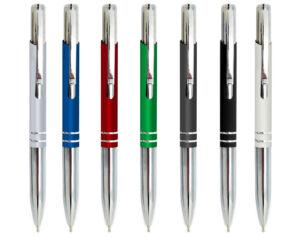עט מתכת ממותג- דואו