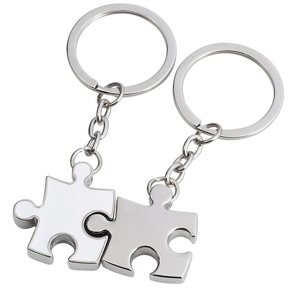 מחזיק מפתחות זוגי- פאזל