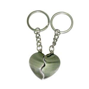 מחזיק מפתחות זוגי- לב