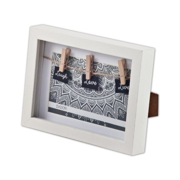 מסגרת תמונה מעץ- אטב