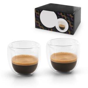 אספרסו - זוג כוסות מעוצבות