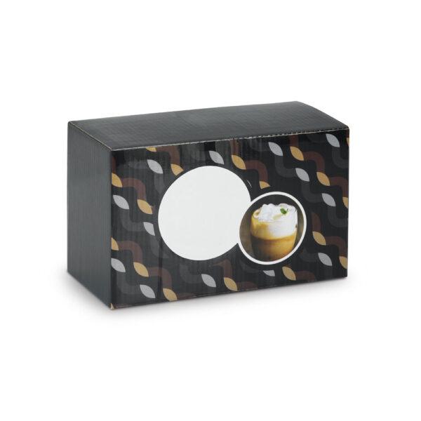 קפוצ'ינו- מארז כוסות דופן כפולה