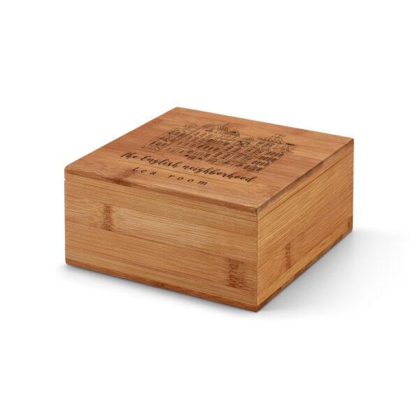 קופסת עץ לתה