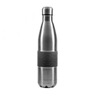 בקבוק תרמי עם חבק סיליקון