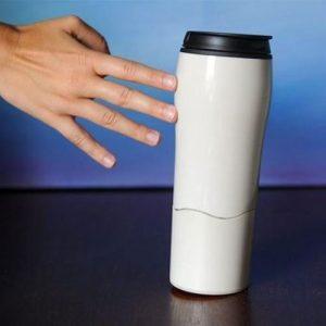 כוס תרמית עם ואקום למשטח
